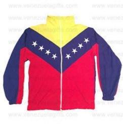 Venezuela Tricolor Flag Unisex Jacket Lightweight (Tri Color Kids Jacket)