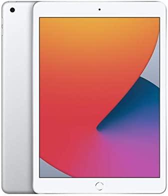 New Apple iPad (10.2-inch, Wi-Fi, 128GB) - Silver (Latest Model, eighth Generation) (Renewed)