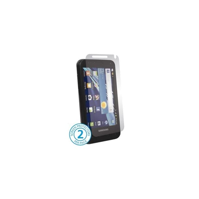Samsung Captivate Glide i927 i 927 Cell Phone HD Anti Glare Clear Transparent Screen Shield Guard Cover   INCLUDES 2 PROTECTORS