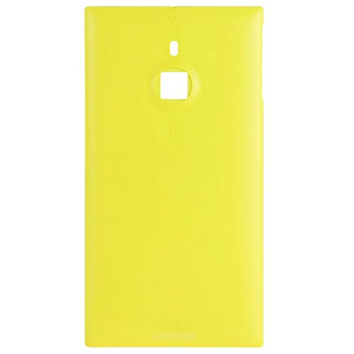 ZHANGTAI Sparts Parts New Back Cover for Nokia Lumia 1520(Black) Repair Flex Cable (Color : Yellow)