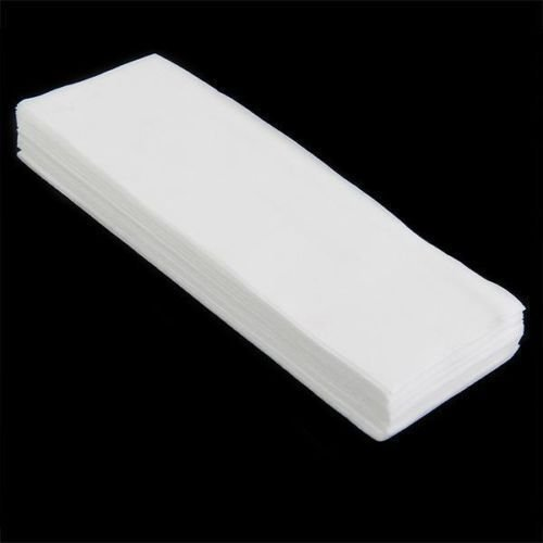 100pcs Wax Strips Papers Leg Body Hair Removal Depilatory Waxing Nonwoven Papers