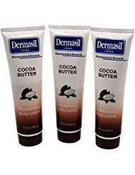Dermasil COCOA BUTTER moisturizing Body Lotion 10 fl oz (Pack of 3)