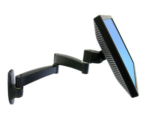 200 S Wall Mnt Arm 2 Exts Blk by Ergotron