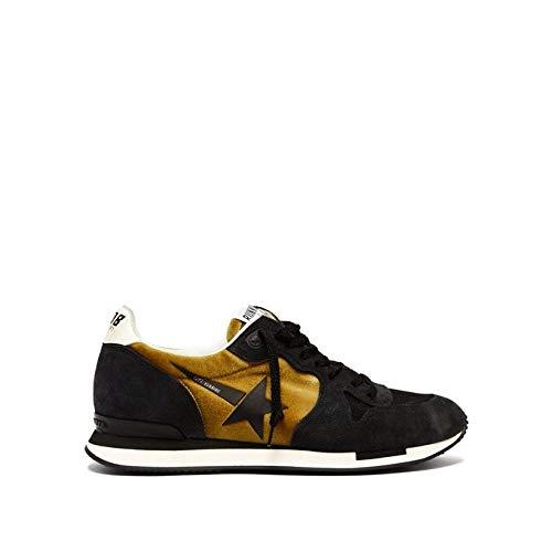 (ゴールデン グース) Golden Goose Deluxe Brand レディース ランニング?ウォーキング シューズ?靴 Running suede and velvet trainers [並行輸入品]