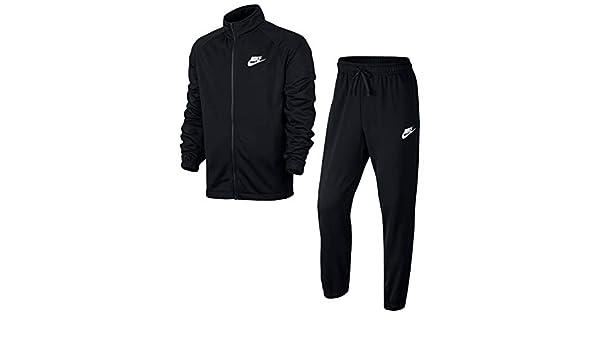 Nike AsNsw CE TRK Suit PK Basic Chándales, Hombre, Negro (Black ...