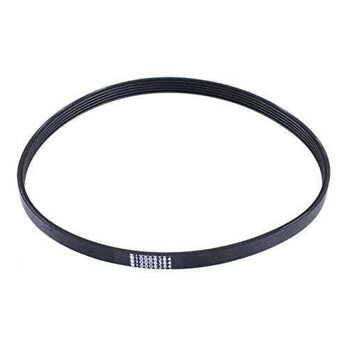 Washer Belt Replacement (Poweka W10006384 Washer Drive Belt Replacement part - Exact Fit for Whirlpool & Kenmore Washer -Replace AP6014712 PS11747978 WPW10006384)