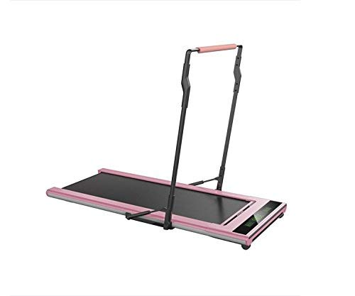 ITREAD Under Desk Infrared Activated Treadmill- Light Weight, Compact (Rose Pink)