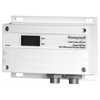 Honeywell 0-250 psi multi-configurable, wet-to-wet, differential pressure transducer - PWT250/U - Transducer Differential Pressure