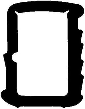 5m-Stahlzargendichtung T/ürdichtung 12mm x 16mm WZ 1110 in Braun Grau Weiss Farbe Braun