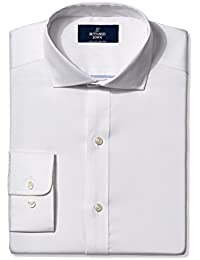 Buttoned Down Men's Non-Iron Classic-Fit Cutaway-Collar Solid Dress Shirt