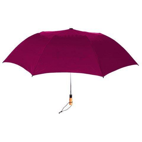 StrombergBrand Stromberg Brand The Vented Little Giant Folding Golf Umbrella Burgundy