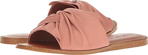 1. State Womens Chevonn Leather Open Toe Casual Slide Sandals, Blush, Size 7.5