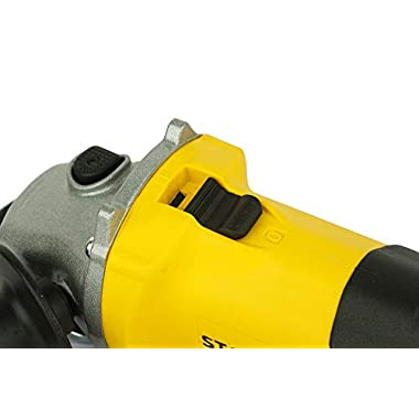 STANLEY STGS6100 600W, 100mm Small Angle Grinder (Yellow and Black) 10