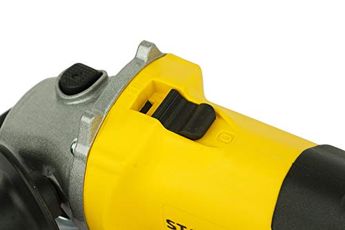 STANLEY STGS6100 600W, 100mm Small Angle Grinder (Yellow and Black) 4