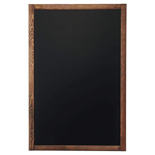 Chalkboard | Magnetic & Non-Porous | Framed Chalkboard | Vintage Decor | Chalk Board for Wedding, Kitchen, Bar, Restaurant, Menu & Home | Chalkboard Sign | 24