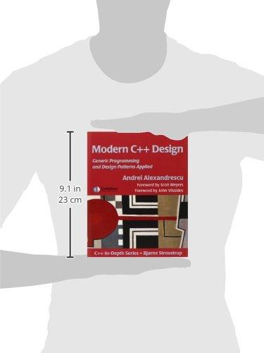 Modern C++ Design: Generic Programming and Design Patterns Applied: Applied Generic and Design Patterns C++ in Depth: Amazon.es: Andrei Alexandrescu: Libros ...