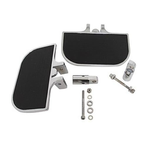 (V-Factor 25514 Black Universal Mini Footboard Kit Clevis Style Mounting Brackets)