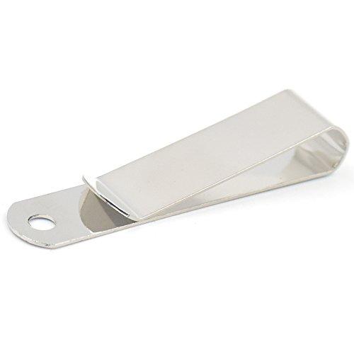Bluemoona 10 Pcs - Belt Clip Clasp Hook Buckles Keyring Spring Holster Leather Craft - 13 63