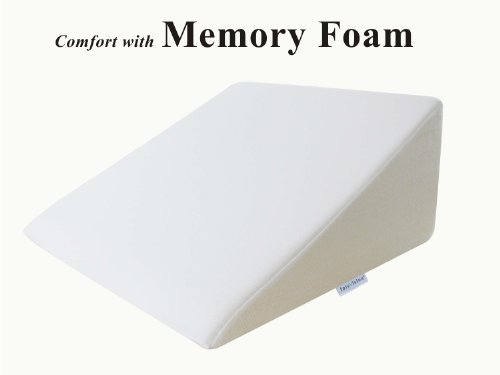 "InteVision Foam Wedge Bed Pillow (25"" x 24"