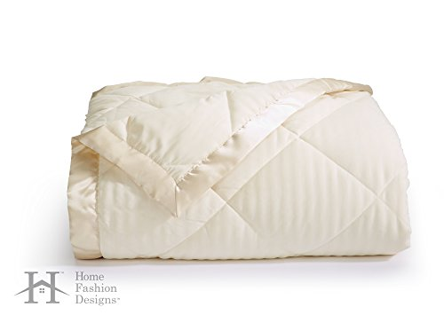 Romana Collection Luxury Goose Down Alternative Quilted Blanket By Home Fashion Designs Brand (King, (Quilted Design)