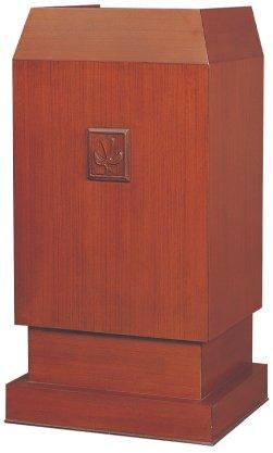 講壇 K-021S 教会家具 教会用品 説教講演講義 説教台 講演台【注文生産のため納期確認要】 B01N16Q6E8