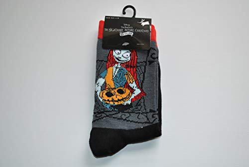 Disney Tim Burtons The Nightmare Before Christmas 25 years Socks SALLY with pumpkin Ladies Shoe size: 4-10]()