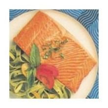 Each Fillet Individually Vacuum - Trident Seafoods Farm Raised Skinless Boneless Atlantic Salmon Fillet - 20 of 8 Ounce Pieces, 10 Pound - 1 each.