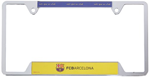 Metal License Plate Frame (Fc Barcelona Champions League)