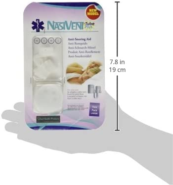 Amazon Com Nasivent Tube Plus Anti Snoring Device 2 Pack Large Anniversary Sale Special Offer Health Personal Care