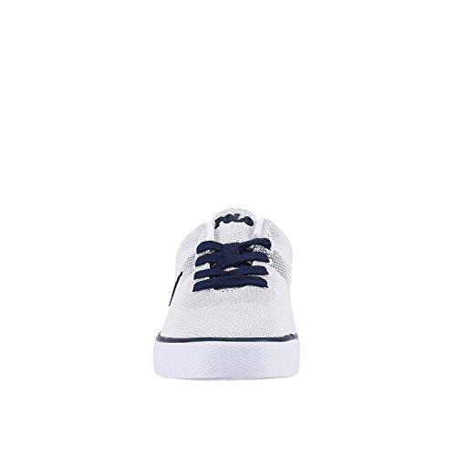 Polo Ralph Lauren - Zapatillas de skateboarding para hombre WHITE NEWPORT