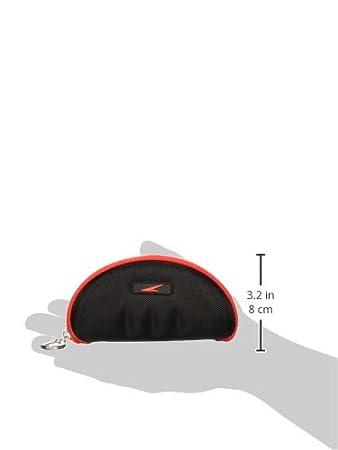 Speedo Swim Goggle Case Black//Red One Size