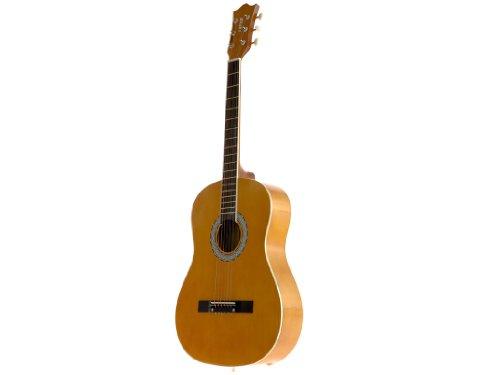 Fever FV-030-BW 3/4 38-Inch Acoustic Guitar, Brown