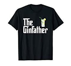 The Gin Father T Shirt is a great gift idea for any cocktail lover, gin and tonic fiend, gin and juice sipper. Gin gifts are perfect for a birthday, Christmas, New Year, or Father's Day. Grab a Gin Tee Shirt for your husband, dad, boyfriend, ...