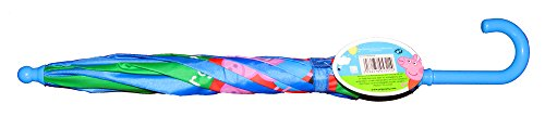 Adorable Peppa Pig and George Pig Vibrant Children's Umbrellas! (BLUE) by Peppa, Pig (Image #2)
