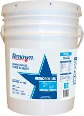 RENOWN GIDDS-108946 General Purpose Floor Cleaner, 5 Gallon, 1 Pail - (Purpose Floor)