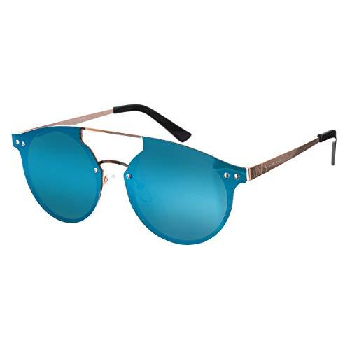 Sunglasses unique taille Lotus rose de Lunette Femme soleil Or Pw8dwB