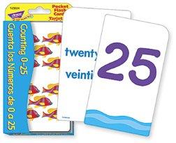 TREND ENTERPRISES INC. T-23024 POCKET FLASH CARDS CUENTA LOS