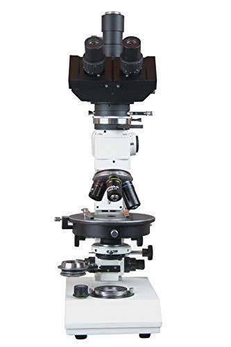 Trinocular Polarizing Ore Geology Microscope w Reflected Light & Camera
