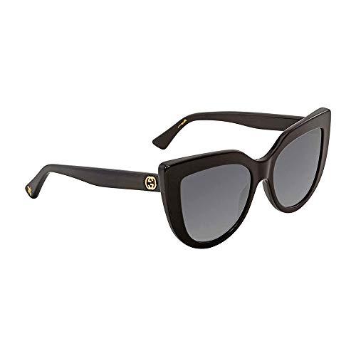 a180b3e1447 Gucci sunglasses (GG-0164-S 001) Shiny Black - Grey Gradient lenses ...