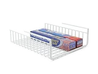 Under Shelf Wrap Rack in WHITE model 1983W from Organize It All (B000KKMNGY) | Amazon price tracker / tracking, Amazon price history charts, Amazon price watches, Amazon price drop alerts