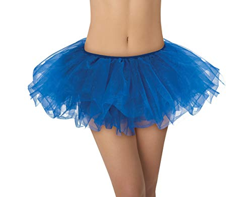 AMSCAN Blue Tutu Halloween Costume Accessories, Blue, One Size ()