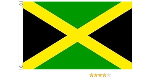 JAMAICA Funeral funerales coffin Gabardina Gigante Bandera + 59mm Botón Insignia: Amazon.es: Hogar