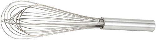 Winco Stainless Steel Piano Wire Whip, 10-Inch (2-Pack)