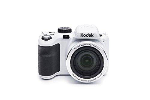 Kodak AZ421-RD PIXPRO Astro AZ421 16 MP Digital Camera with 42X Optical Zoom and 3″ LCD Screen (Red)