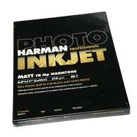 Inkjet Matt FB Mp Warmtone Paper 8.5 x 11 , 50 (Harman Inkjet Matt)