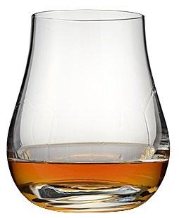Bix Script Etched Monogram Spey Dram Whisky Tasting Glass (Letter A)