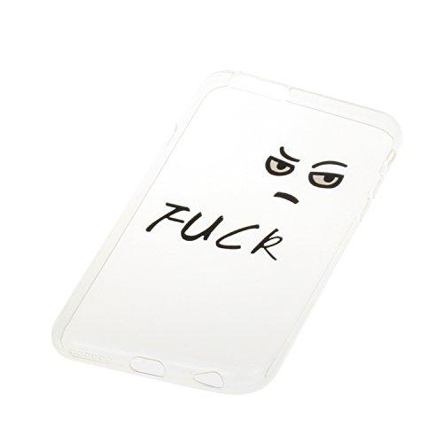 Voguecase® für Apple iPhone 6 Plus/6S Plus 5.5 hülle, Schutzhülle / Case / Cover / Hülle / TPU Gel Skin (wütend 02) + Gratis Universal Eingabestift