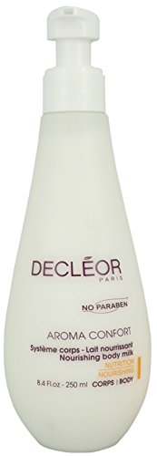 - Decleor Aroma Comfort Nourishing Body Milk for Unisex, 8.4 Fl.oz-250ml