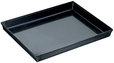World Cuisine 19 5/8'' by 13 3/4'' Blue Steel Baking Sheet