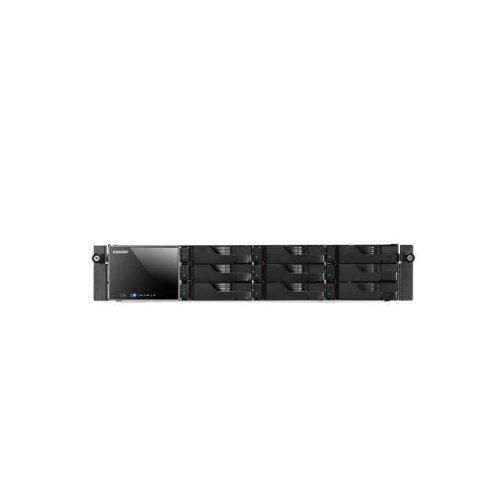 ASUSTOR AS-609RS/RAIL Intel Atom 2.13GHz/ 1GB DDR3/ 2GbE/ 2eSATA/ USB3.0/ 9-bay 2U Rackmount NAS Server, w/ Rail